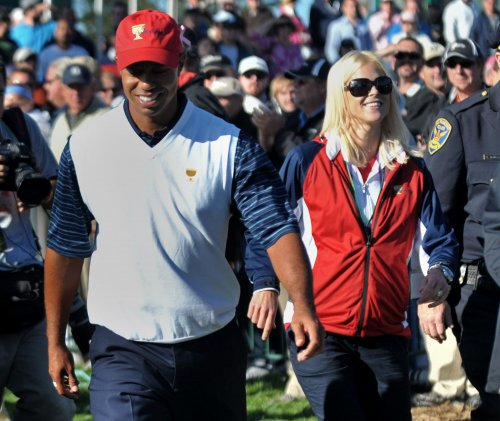Tiger Woods and Lindsey Vonn double date with Elin Nordegren and her beau