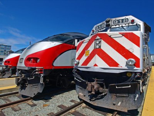 California train fatally strikes woman who walked onto track