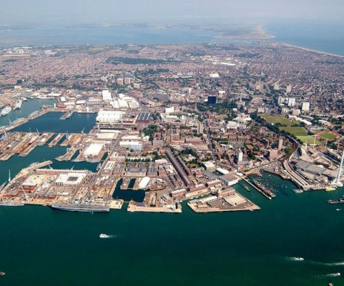 British naval base readies for new aircraft carriers