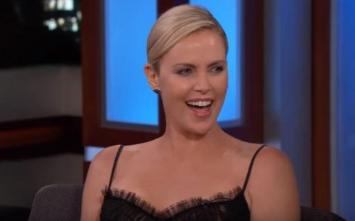 Charlize Theron jokes about appearing on 'Kimmel' on pain meds