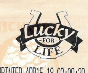 Man learns of lottery luck thanks to dad's visit