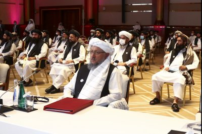 U.S.-brokered Taliban, Afghan government peace talks begin