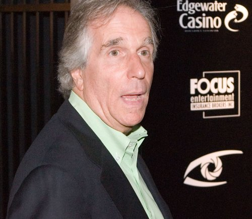 Brits honor 'The Fonz' Henry Winkler