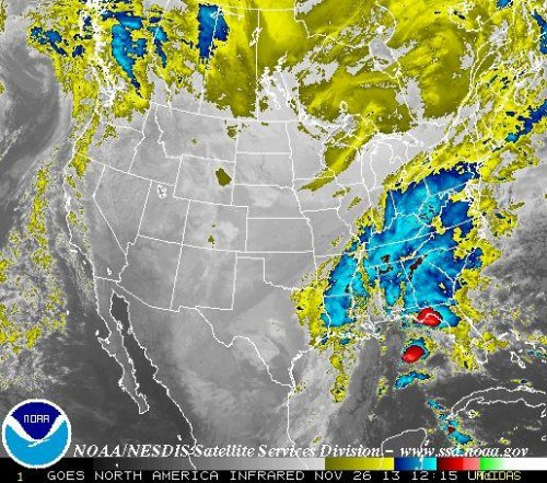 Powerful storm could make mincemeat of Thanksgiving travel plans