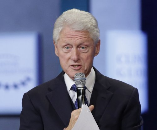 Bill Clinton booked for Tuesday's 'The Late Show with Stephen Colbert'