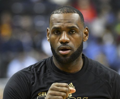 Cleveland Cavaliers' LeBron James [strep throat] will play vs. Milwaukee Bucks