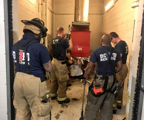 D.C. man looking for dropped phone falls into trash chute