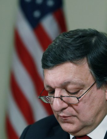 Barroso urges resumption of Mideast talks