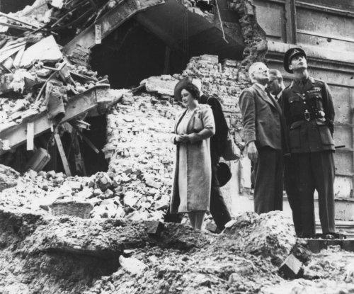 King George tells Britons war 'at doors'