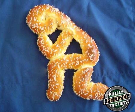 Tebowing pretzel welcomes Tim Tebow to the Eagles