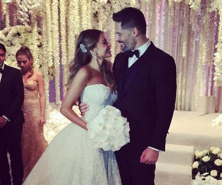 Sofia Vergara shares photos from wedding to Joe Manganiello