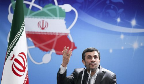 Ahmadinejad: I'll be first Iranian in space