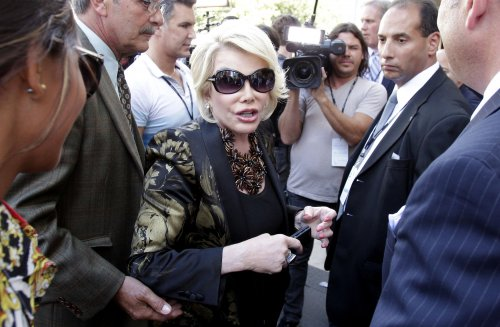 Joan Rivers moved out of the intensive care unit