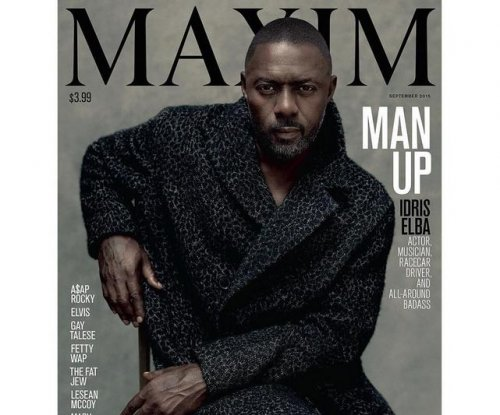 Idris Elba becomes first man to cover Maxim solo
