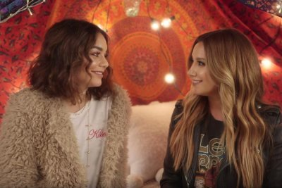 Ashley Tisdale, Vanessa Hudgens reunite for first duet, cover 'Ex's and Oh's'