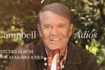 Glen Campbell farewell album 'Adios' to release in June