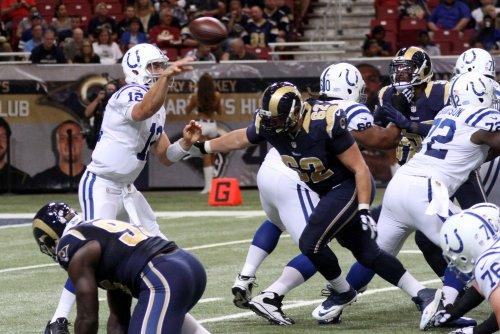 Indianapolis Colts sign OG Terran Vaughn, waive LB Deiontrez Mount