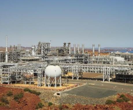 Flagship Wheatstone LNG project in Australia started