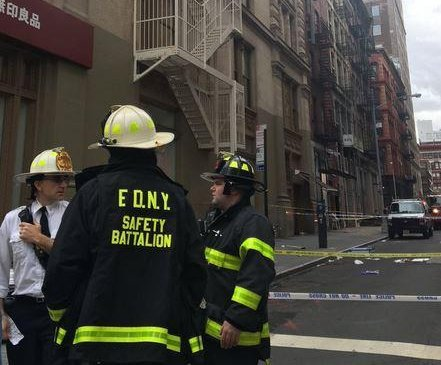 N.Y. man killed by falling debris from apartment building