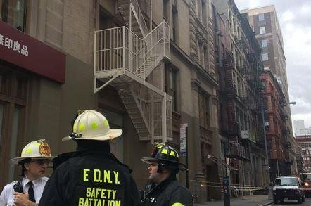 NY man killed by falling debris from apartment building