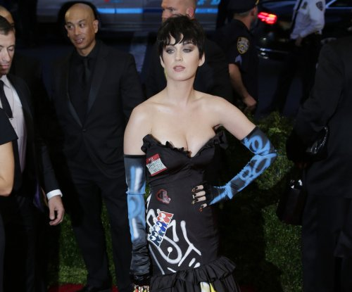 Katy Perry Goes almost nude for new Moschino campaign