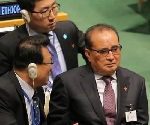 North Korea's foreign minister condemns U.S. sanctions at U.N. meeting