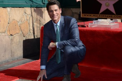 Rob Lowe gets his star on Hollywood Walk of Fame