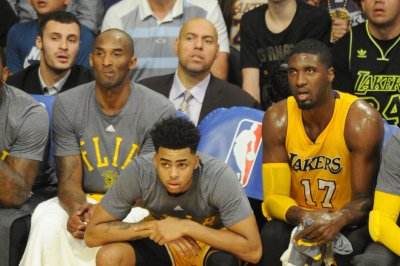 Lakers' D'Angelo Russell is feeling heat from all directions