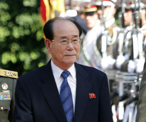 North Korea's Kim Yong Nam defends nuclear weapons, criticizes sanctions