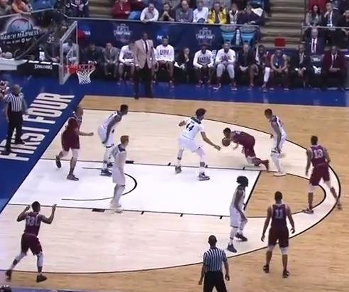 UC Davis hangs on against NC Central to win first NCAA tourney game