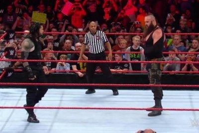 WWE Raw: Roman Reigns attacks Braun Strowman