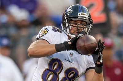 Baltimore Ravens release TE Dennis Pitta after another hip injury