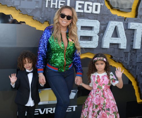 Mariah Carey sings 'Always Be My Baby' onstage with daughter Monroe