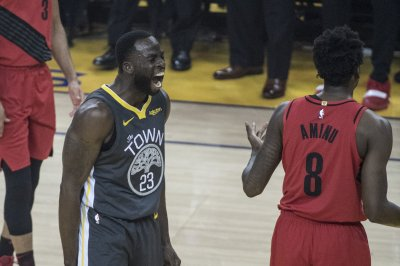 Iguodala locks down Lillard in closing seconds as Warriors rally for Game 2 win