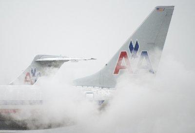 American Airlines flight lands as cabin walls break midflight