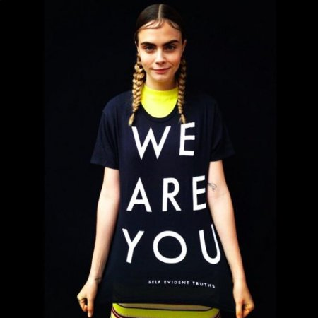 Cara Delevingne promotes National Coming Out day on Twitter