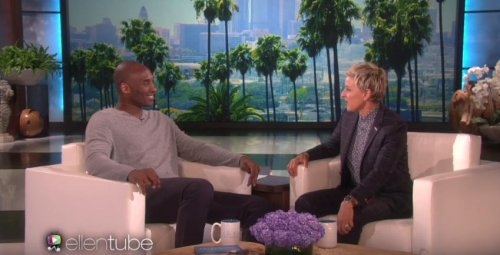 Kobe Bryant pranks confused aesthetician on 'Ellen'