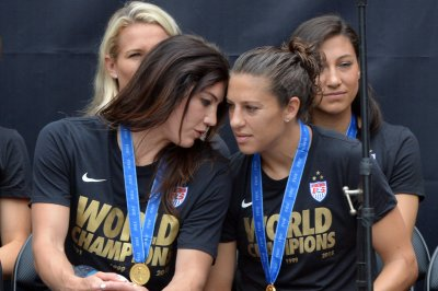 "USWNT's Alex Morgan, Megan Rapinoe ""don't share"" Hope Solo's opinion of Swedish ""cowards"""