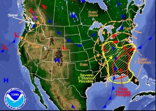 3 radar systems inoperable as tornadoes hit Southeast
