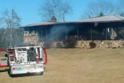 Arson suspected in fire at home of Roy Moore accuser