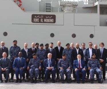 Leonardo delivers upgraded ship to Royal Bahrain Navy