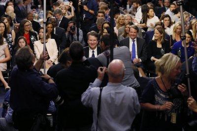 Kavanaugh grilled in Senate as 'pandemonium' grips confirmation hearing