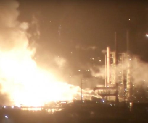 ExxonMobil fire released harmful chemicals, none detected outside of facility