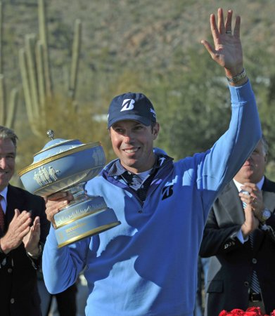 Matt Kuchar moves to fourth in golf rankings