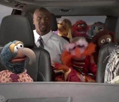 Terry Crews hallucinates, hangs out with Muppets in Toyota Super Bowl ad