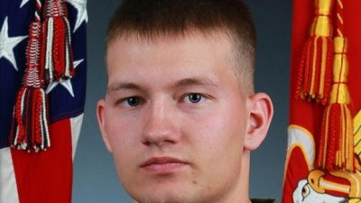 Marine lost at sea is first IS fight casualty for U.S.