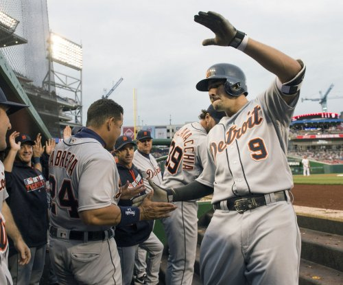 Nick Castellanos, Justin Upton lead Detroit Tigers' hit parade in 13-4 win