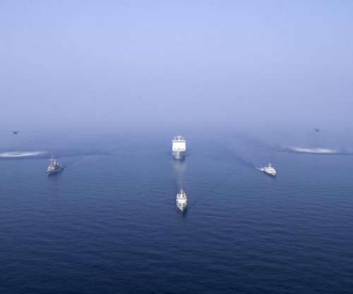 U.S., British navies practice mine countermeasure operations