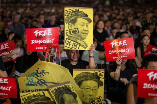 Hong Kong bill in U.S. Congress is urgent, activist says
