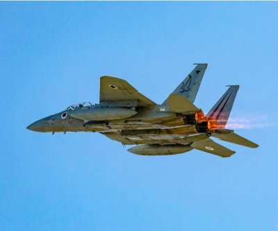 Israeli fighter planes participate in British air exercises